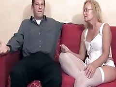 Blonde Creampie Mature Old and Young