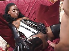 Anal Interracial Latex