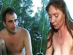 Group Sex Mature MILF Outdoor