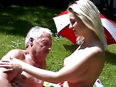 Czech Blonde Big Boobs Old and Young