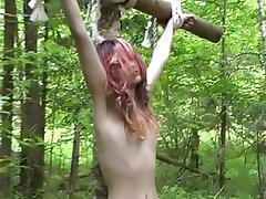 BDSM Lesbian Outdoor