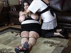 BBW BDSM Bondage Big Boobs
