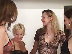 Lesbian Blonde Brunette Group Sex