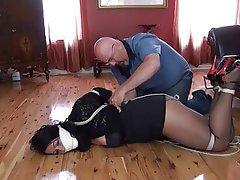 BDSM Bondage Mature Nylon