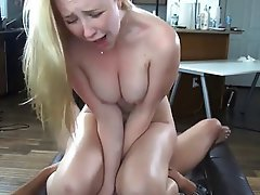 Blonde Hardcore Orgasm