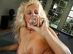 Blonde Mature Big Boobs Foot Fetish