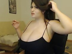 Big Boobs Brunette Webcam