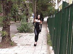 Arab BDSM Femdom Latex