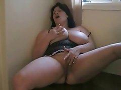 Anal BBW Masturbation Orgasm