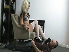 Amateur BDSM Blonde