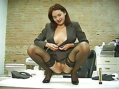 Anal Masturbation MILF Brunette