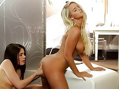Blonde Lesbian Masturbation Softcore