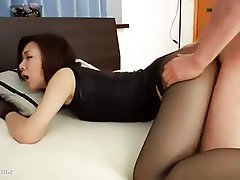 Blowjob Japanese Nylon
