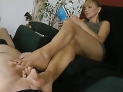 Foot Fetish MILF