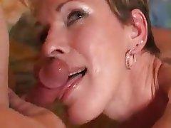 Amateur Blonde Cumshot Mature