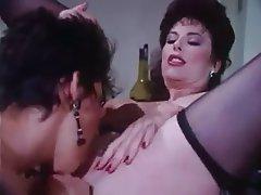Babe Brunette Hardcore Threesome