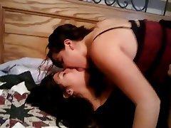 Amateur Bisexual Brunette Lesbian