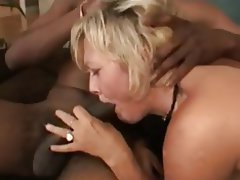 Anal Blowjob Interracial MILF