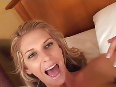 Blonde Creampie Interracial
