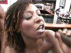 Cumshot Hardcore MILF Threesome
