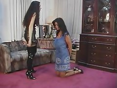 BDSM Lesbian Big Boobs Brunette