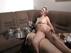 Blowjob Cumshot French Old and Young Threesome