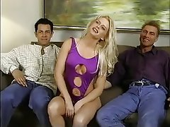 Anal Babe Blonde Double Penetration
