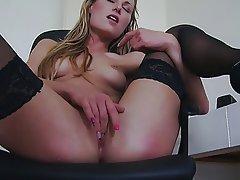Amateur Blonde Czech Masturbation