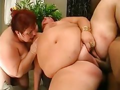 BBW Granny Old and Young Threesome