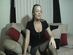 Close Up Lingerie MILF POV