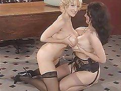 Big Boobs Lesbian Lingerie MILF