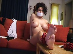 Big Boobs Bondage MILF