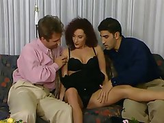 Cumshot Double Penetration Italian Threesome Vintage