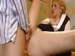 Anal Babe Blonde Blowjob