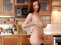 Big Boobs Masturbation Nipples Stockings