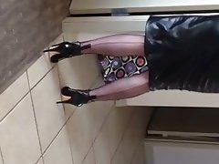 Lingerie MILF Nylon Redhead Stockings