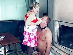 Femdom Granny Mature Old and Young