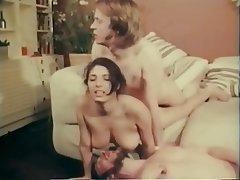 Vintage Group Sex Handjob Swinger Threesome