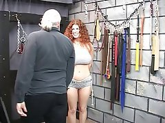 BDSM Redhead Mature Big Boobs