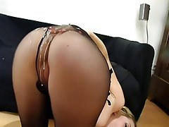 Cumshot German Nylon