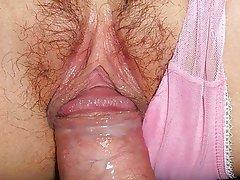 Close Up Creampie Japanese Masturbation
