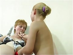 Hairy Lesbian Mature Old and Young
