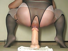 Anal Lingerie Stockings