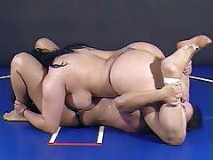 BBW Big Boobs Brunette Lesbian