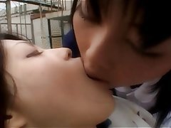 Asian Babe Close Up Japanese Lesbian
