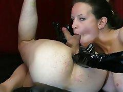 Ass Licking Femdom German