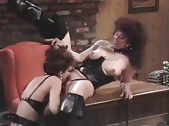 Femdom Lesbian MILF Spanking