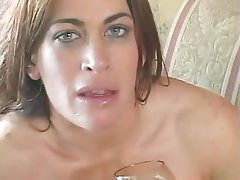Anal Brunette Latex