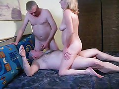 Cumshot Old and Young Amateur German