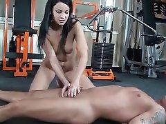 Babe BDSM Blowjob Brunette